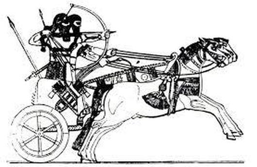 0ancient war chariot