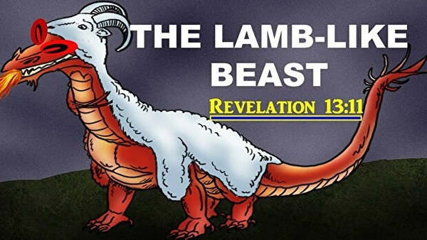 0beast with lamb like two horns3