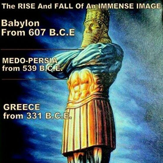 0daniel statue babylon・medo-persia・greece