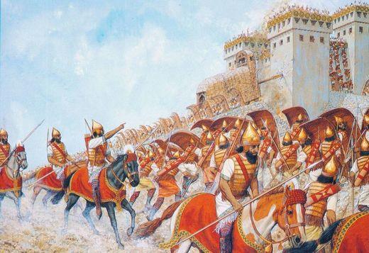 0babylonian cavalry