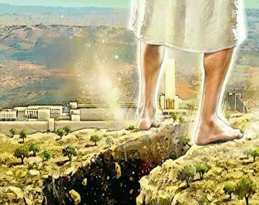 0zechariah chapter14 mountain valley