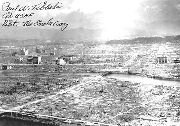 0Hiroshima after atomic bomb