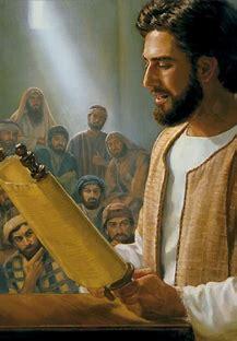 0jesus christ reading the bible