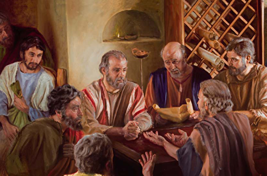 0other christians talked to paul