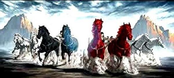 0four chariots zechariah6