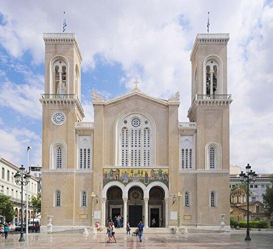 0greek orthodox church in Athens
