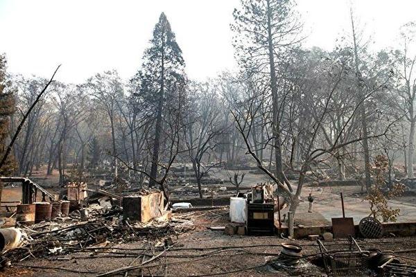 0california house burned down