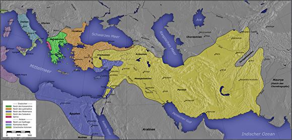 0four kingdoms after alexander Captain_Blood