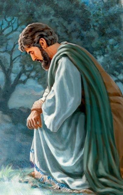 0jesus prayed to God small