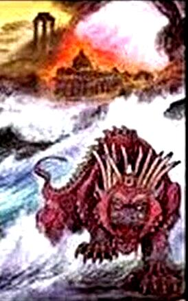 0roman empire beast with ten horns