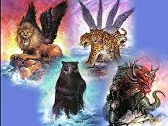 0daniel8 four beasts