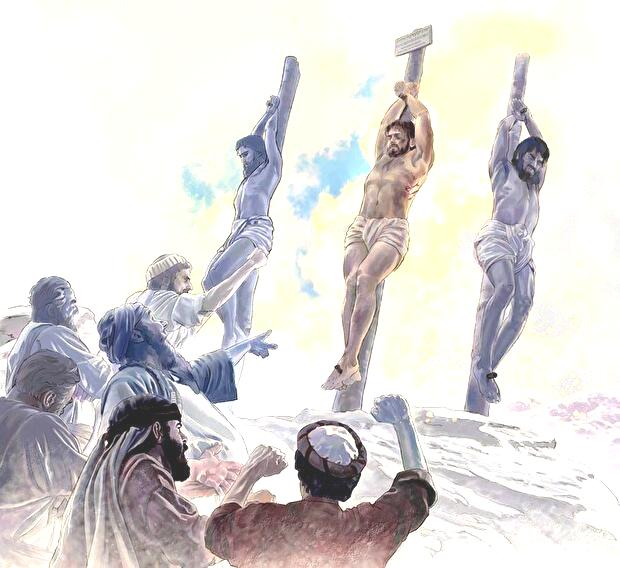 0jesus was abused by religious leaders on the stake