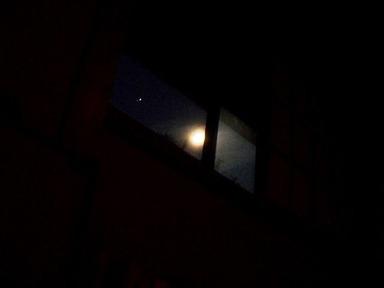 s-明けの月