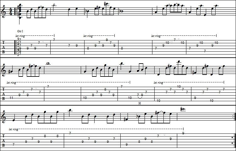 Guitar guitar tablature hotel california : Hotel California Guitar Tab Acoustic