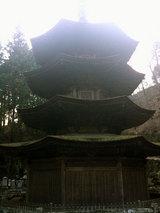 安楽寺八角三重塔