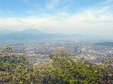 長野市南方からの眺望
