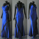ブルー ドレス