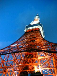 迫力!東京タワー