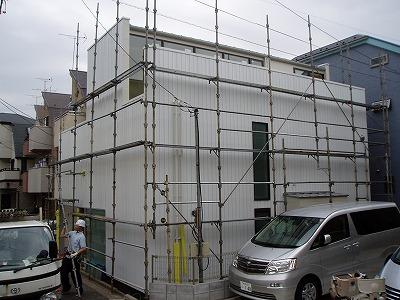 足場解体中・100414 (2)