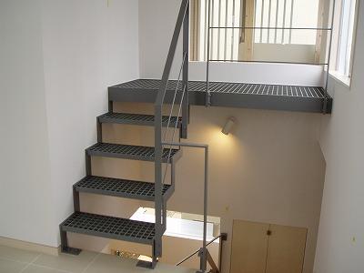 グレーチング階段・100209