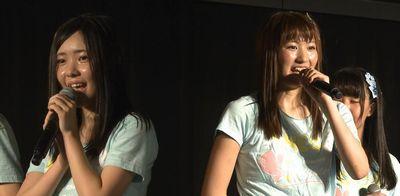 SKE48荻野利沙と佐々木柚香