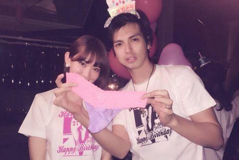 AKB48小嶋陽菜の誕生パーティーにアレク