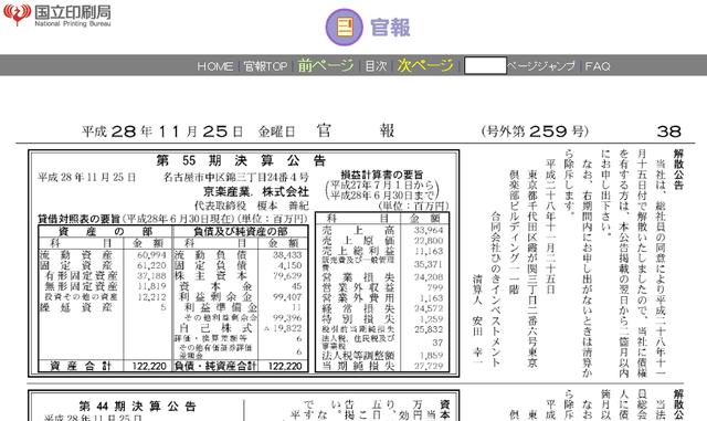 AKB運営の親会社が今期277億円の大赤字【京楽産業http://shiba.2ch.net/test/read.cgi/akb/1480115611/