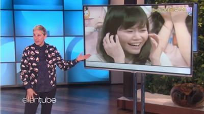 アメリカの人気番組でAKBINGOの「ゴキブリ息相撲」が紹介され大ウケw 【The Ellen DeGeneres Show】https://rosie.5ch.net/test/read.cgi/akb/1521894661/