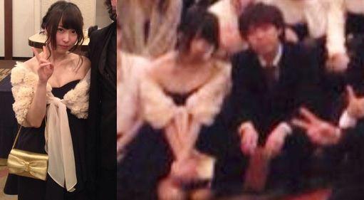 NMB48島田玲奈の同窓会写真流出
