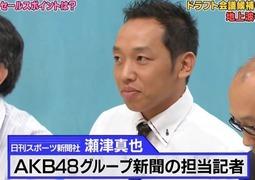 AKB48グループ新聞 日刊スポーツ瀬津真也記者