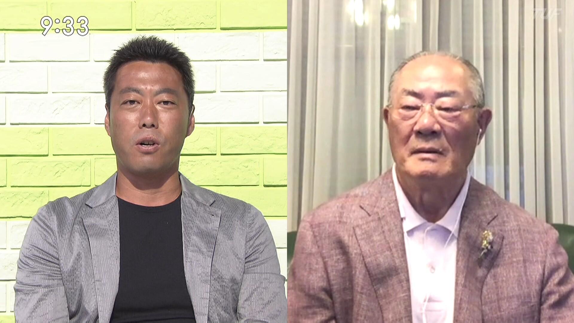上原「大谷より澤村にあっぱれ。首位争いで成績を残すことのほうが大事。そういう報道をしているメディアに喝」