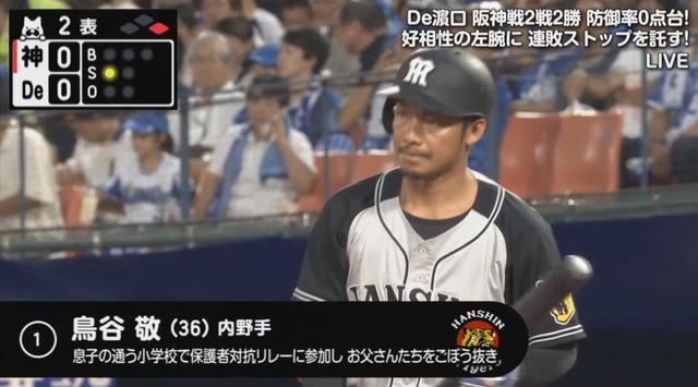鳥谷敬さん、一般人相手に本気をだしてしまう
