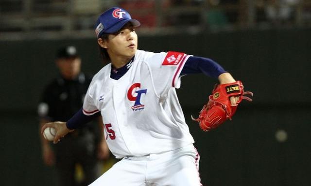 中華戰士先發投手郭俊麟主投6局送出6次三振,表現優異。