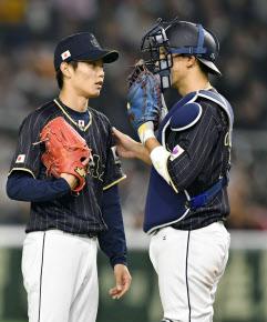侍ジャパン・岡田、体調不良か? 球場に姿見せず