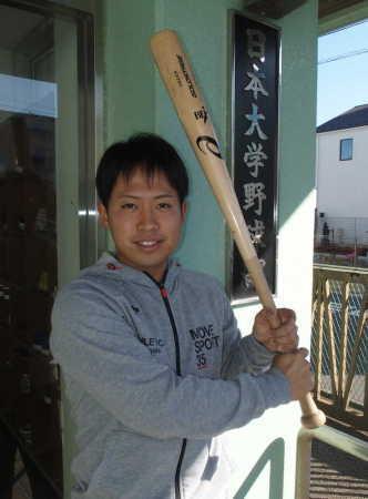 日大・千葉「カット打法」貫き2年後プロ目指す 九州三菱自動車に入社