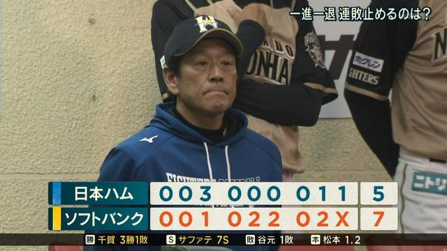 日本ハム 9連敗 勝率.190