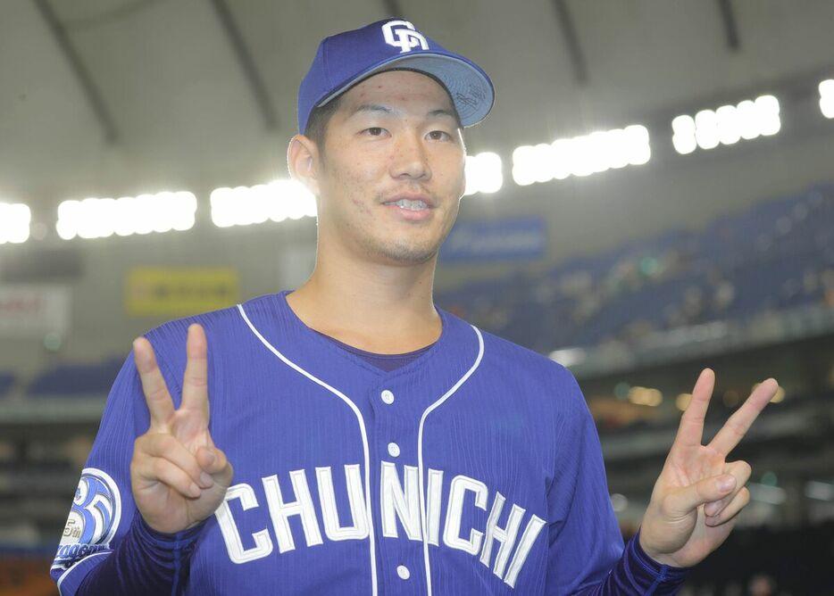 京田「福留さんに『次こうくるから』って言われて、そのまま狙ったらホームランになった」
