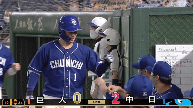 2番強打者京田wwwwww