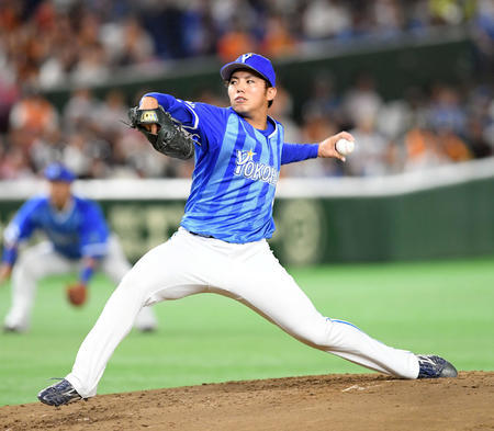 DeNA・東、左肘炎症で日本代表を辞退