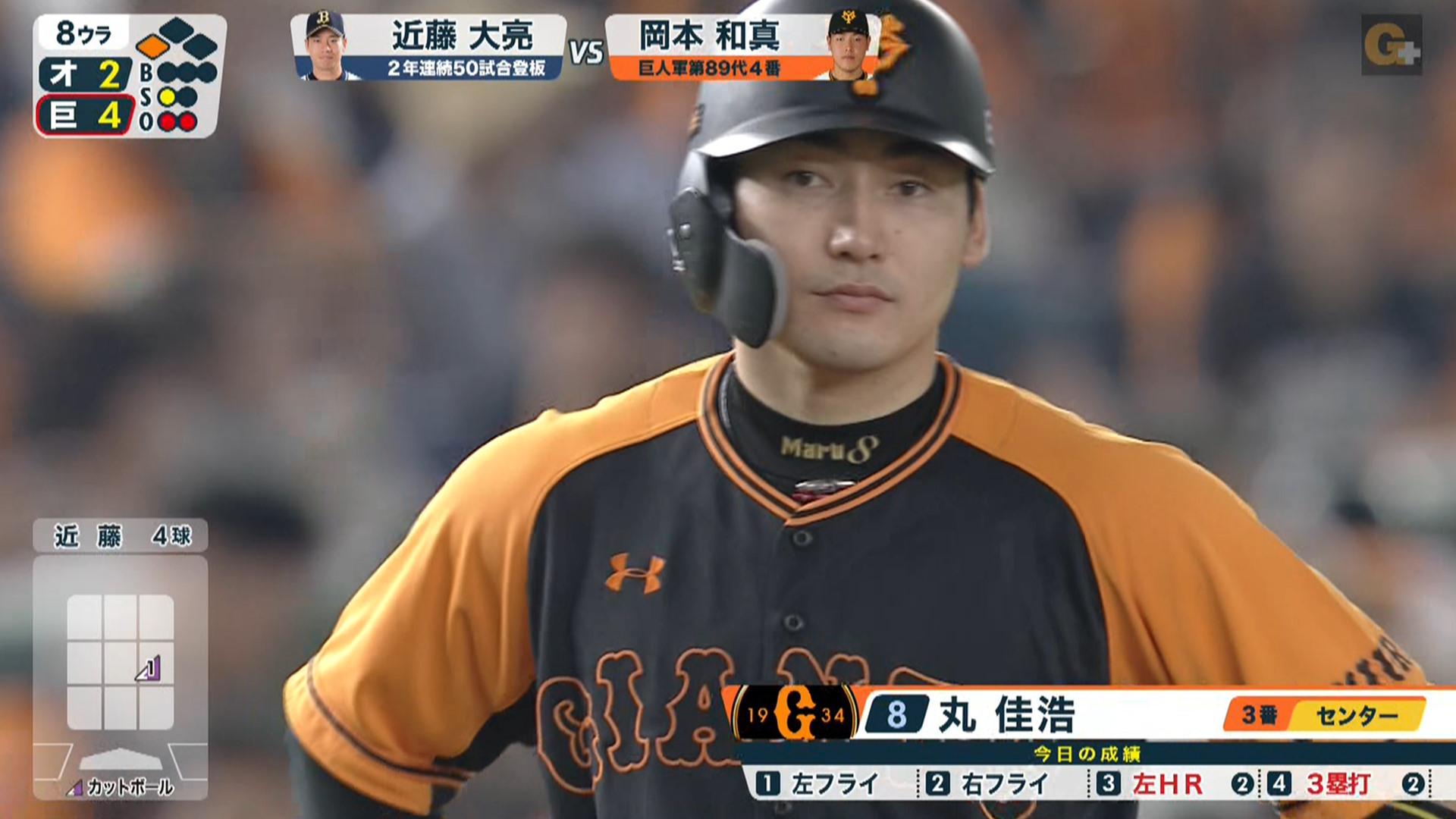 巨人・丸、久しぶりに東京ドームのお立ち台へ 一人で全打点を叩き出す大活躍
