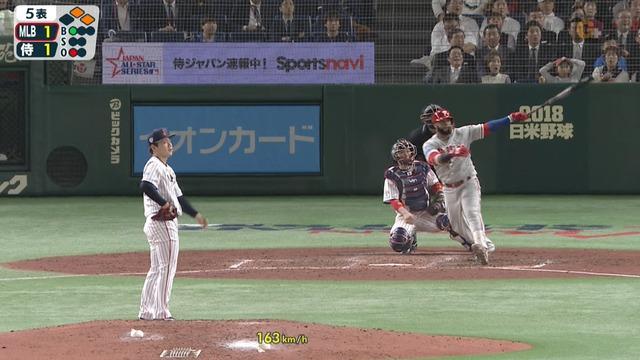【日米野球】 成田飛翔wwww 岸「」