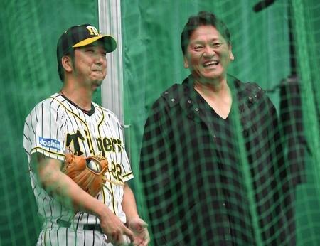 大魔神佐々木さん、引退を発表した藤川球児に名球会マウントを取ってしまう