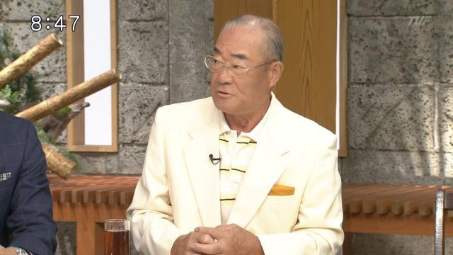 張本さん、サッカー日本代表の時間稼ぎについて 西野監督に「喝!」