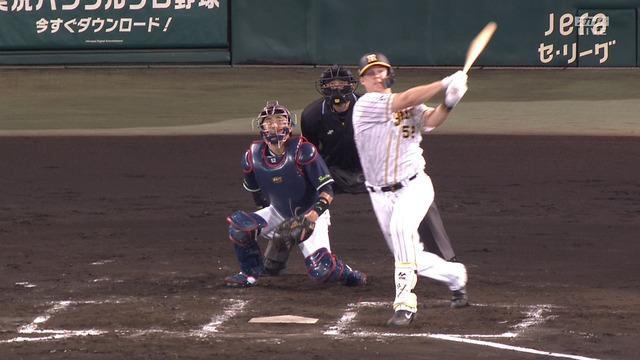阪神・サンズ、今日もいい所でホームラン! 3試合連発となる同点2ラン