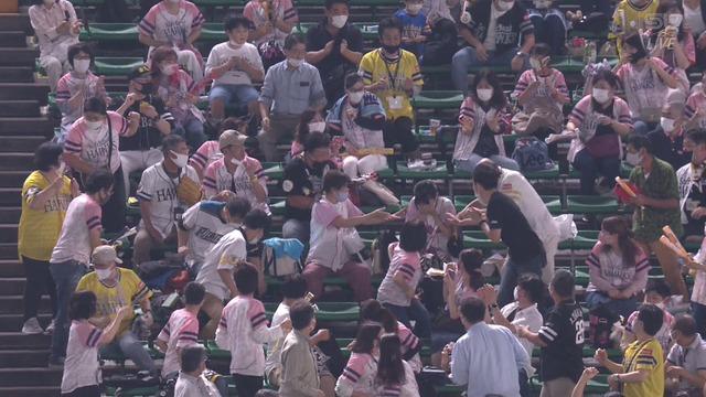 柳田のホームランボールを顔面で受けてしまった女の子、Twitterで経過報告