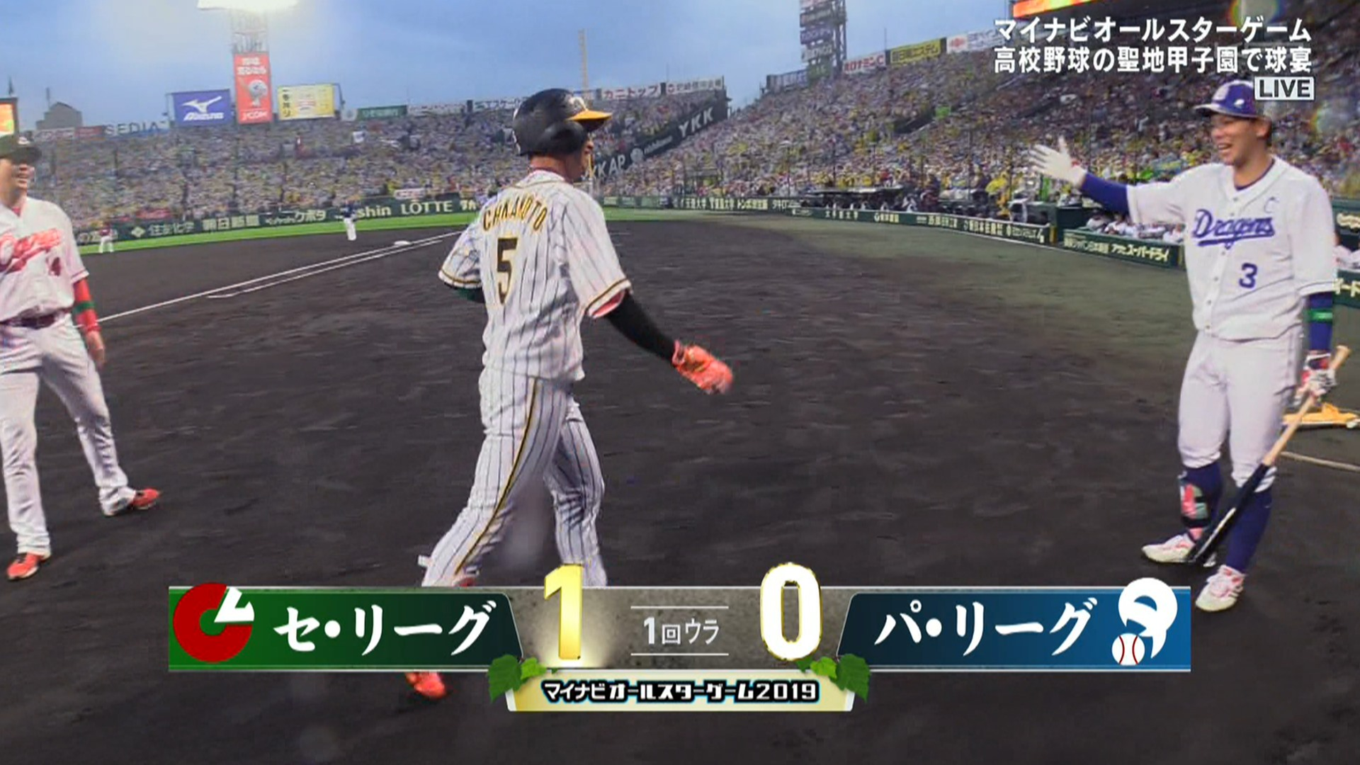 【オールスター】 阪神・近本、先頭打者ホームランwwww