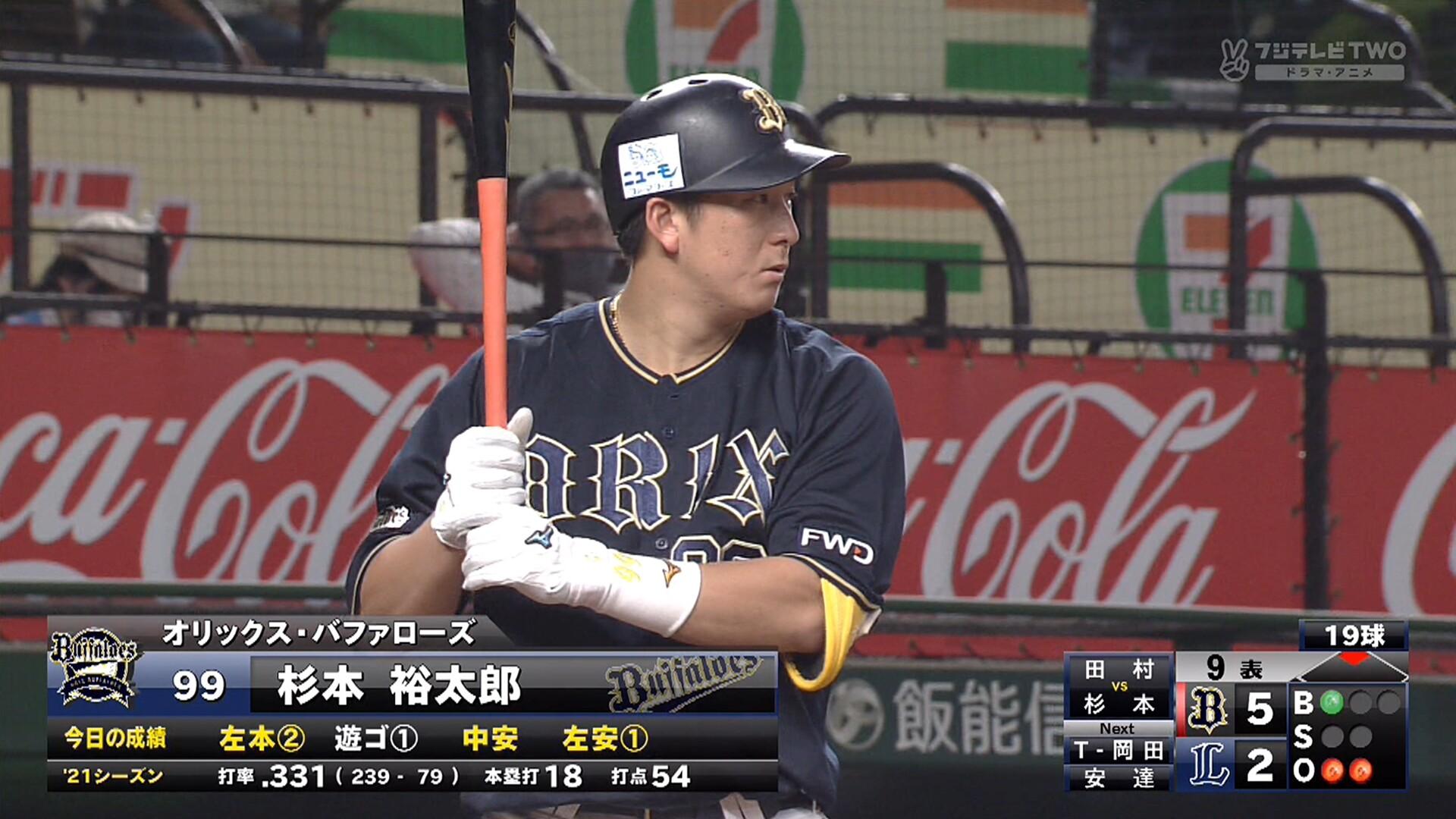 オリックス・杉本裕太郎さん(30) ガチで令和初の三冠王へ