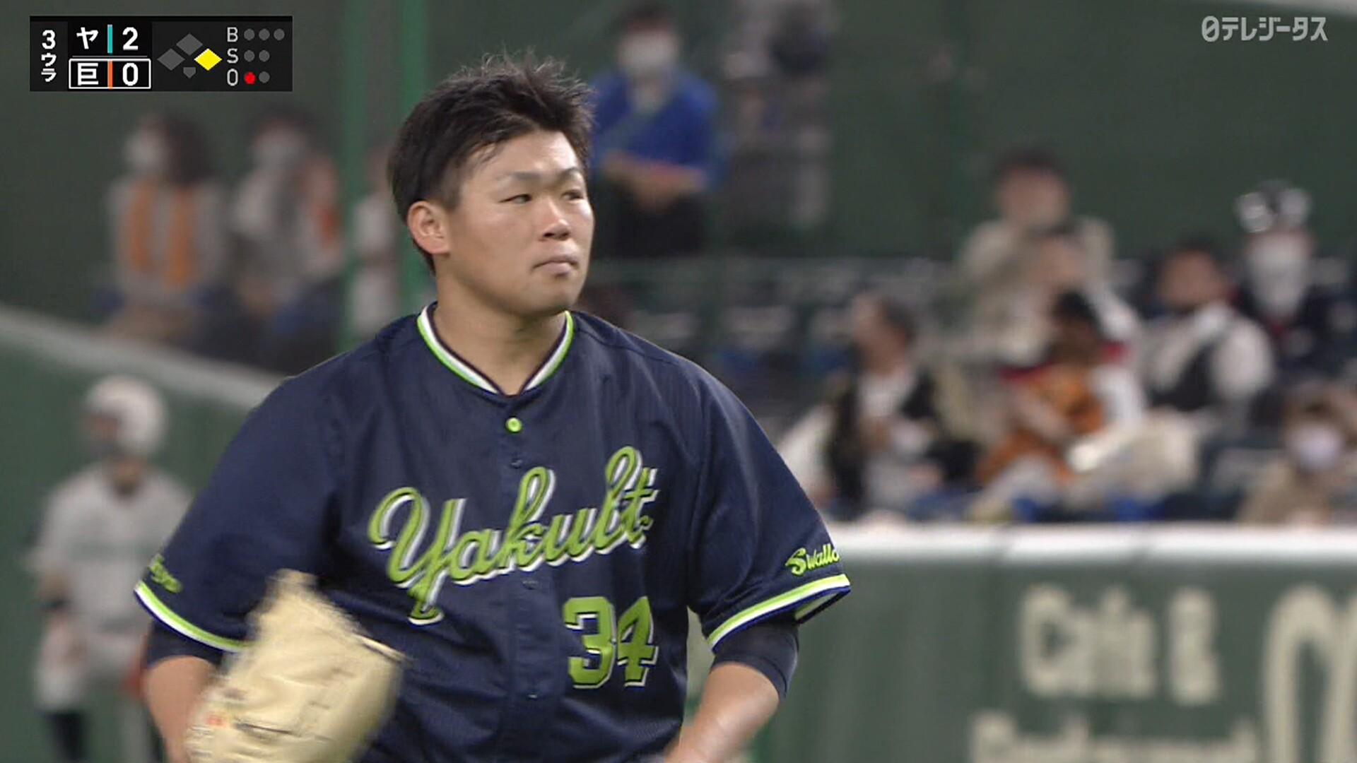 田口 vs 廣岡のトレード対決 第1打席は引き分けwwwww