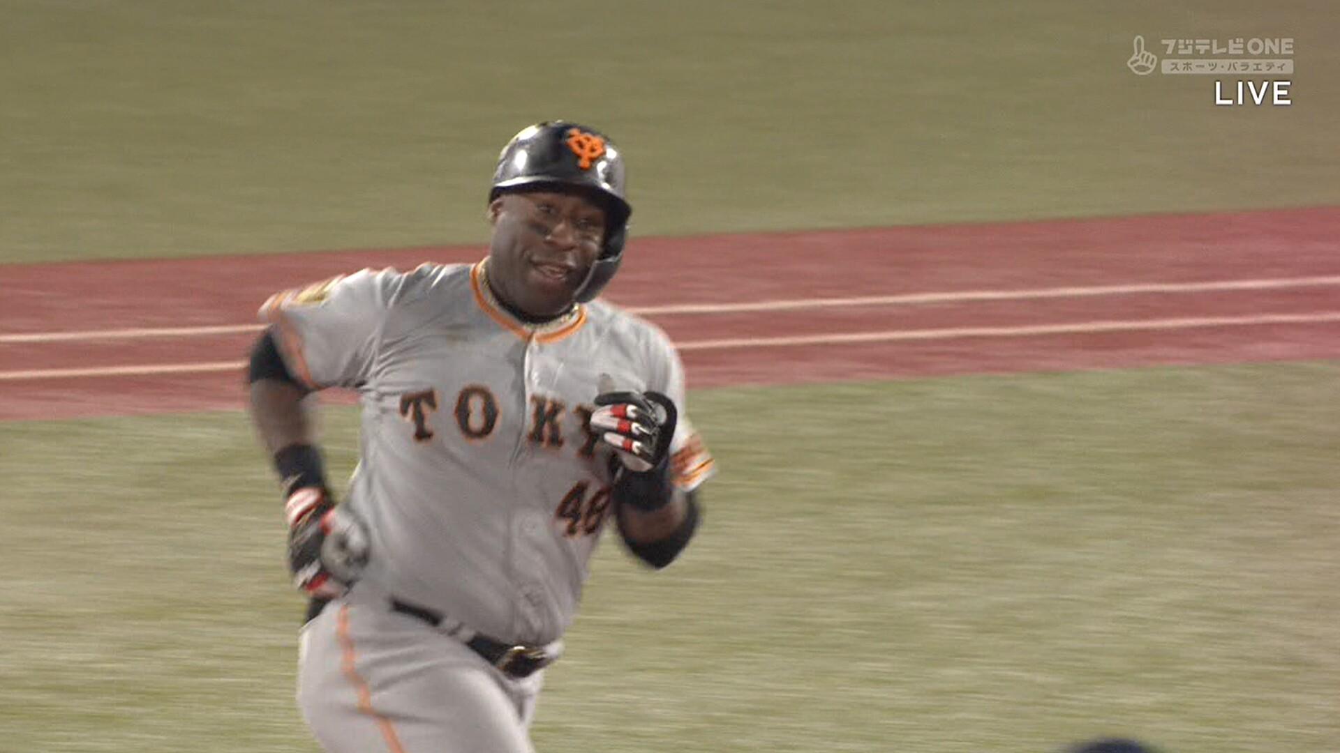 巨人・テームズが故障した結果… ウィーラーが4安打1本塁打の大暴れwwwwww