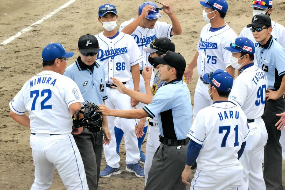 阪神2軍でもサイン盗み騒動 中日ともみ合い「やってるわけないやんか!」